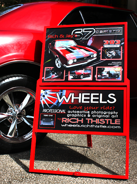 Car Show Display Stand