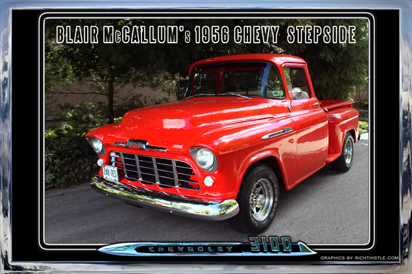 Blair's 1956 Chevy Stepside